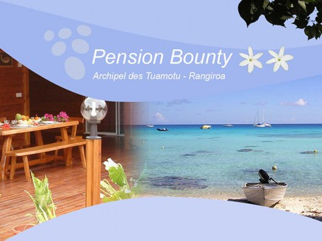 Pension Bounty - Guest House | Rangiroa | eDivingPass