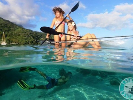 Lagoon Explorer - transparent kayak | Activities | eDivingPass