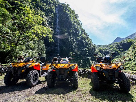 Vaihiria Quad Tahiti - atv tours | Activities | eDivingPass