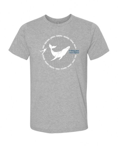 Mokarran - T-Shirt Men - Whale | Shop | eDivingPass